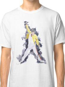 Freddie Mercury Splash Watercolor Classic T-Shirt