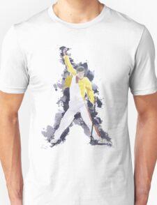 Freddie Mercury Splash Watercolor Unisex T-Shirt