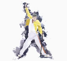 Freddie Mercury Splash Watercolor T-Shirt