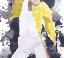Freddie Mercury Splash Watercolor Sticker
