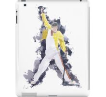 Freddie Mercury Splash Watercolor iPad Case/Skin