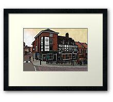 Delaneys Framed Print