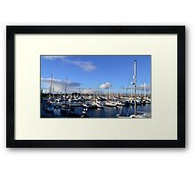 """Troon Yachts"" Framed Print"