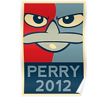 Perry the Platypus for President 2012 Poster