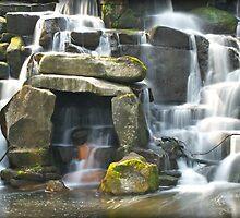 The Royal Landscape Waterfall by fernblacker