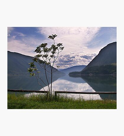 Evening at Lower Arrow Lake Photographic Print