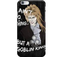 Goblin King iPhone Case/Skin