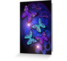 Paisley Butterflies Greeting Card