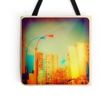 """double vision of ny ny is always a good thing"" Tote Bag"