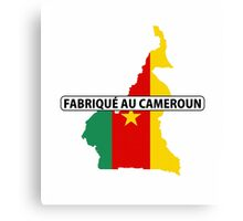 made in cameroon Canvas Print