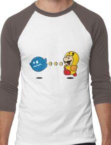 Power Pellet Power Up Men's Baseball ¾ T-Shirt