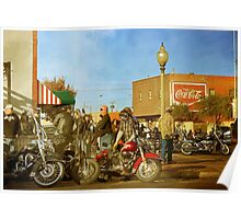 Toys for Tots Motorcycle Rally Poster