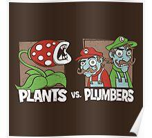 Plants Vs Plumbers Poster