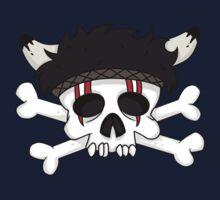 indian skull horns One Piece - Short Sleeve