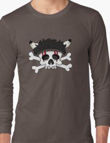 indian skull horns Long Sleeve T-Shirt