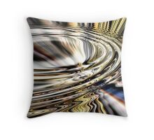 Rippled Refraction Throw Pillow