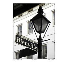 Bienville Lamp Post / French Quarter Photographic Print