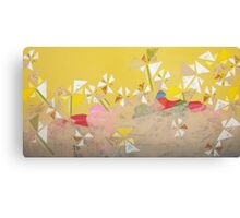 Flower Landscape Canvas Print