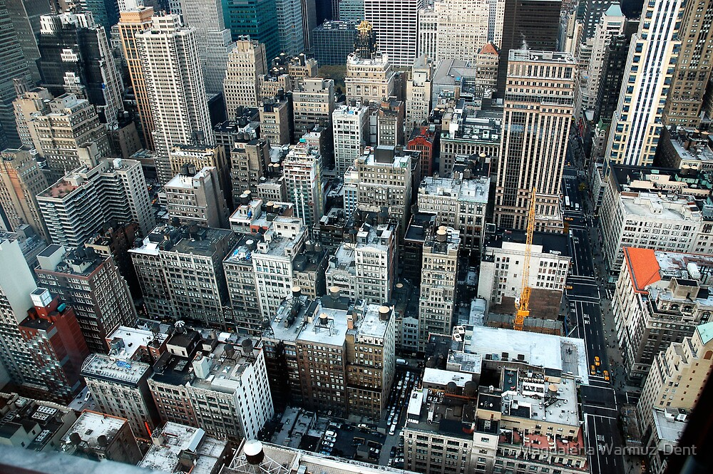 New York skyscrapers by Magdalena Warmuz-Dent