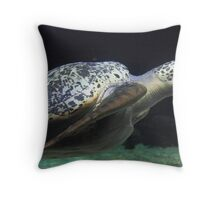 The Things you See Underwater Throw Pillow