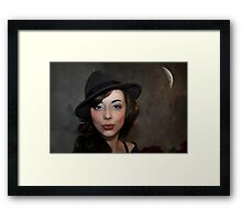 """"""" Just one kiss """" Framed Print"""