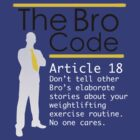 Bro Code Article 18 by drew777