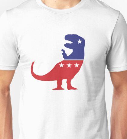 T-Rex Political Logo Unisex T-Shirt