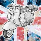 Lambretta - Union Jack by mik gailson