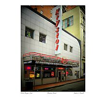 Retro Burger Joint Photographic Print