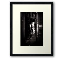 Taking Lunch Back to the Office - Japan Framed Print