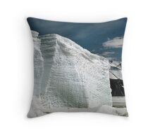 Tabular Icebergs and Fast Ice Throw Pillow