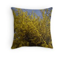 Beauty in the Backyard Throw Pillow