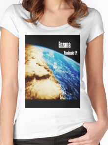 """Enzana """"Pandemic"""" Album Cover Women's Fitted Scoop T-Shirt"""