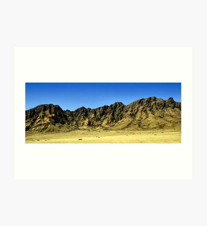 Naukluft Mountains, Namibia Art Print