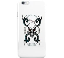 I Will Not Break Iphone Cover iPhone Case/Skin