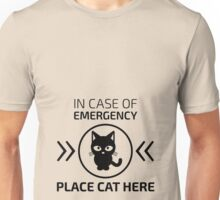 Emergency cat Unisex T-Shirt