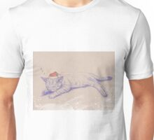 Christmas_Cat Unisex T-Shirt