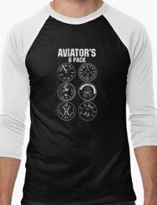 Aviator Six Pack Men's Baseball ¾ T-Shirt