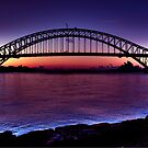 Start of a beautiful day Sydney Harbour by Andrew  MCKENZIE