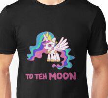 Filly Princess Celestia - To Teh Moon! Unisex T-Shirt