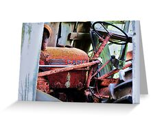 Rust in Case Greeting Card