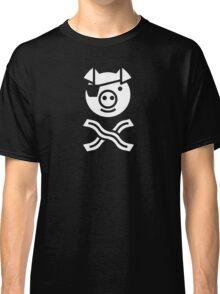 Pirate Pig Classic T-Shirt