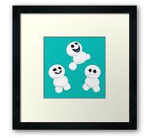 Snowgie Love Framed Print