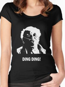 DING DING! Women's Fitted Scoop T-Shirt