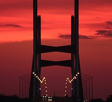 Bill Emerson Memorial Bridge at Dusk by Daniel Owens