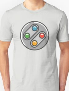 SNES Controller Icon T-Shirt