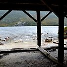 Dove Lake, From the Boat House. by Janice E. Sheen