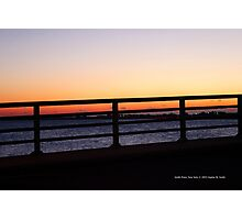Evening Walk Over The Smith Point Bridge | Smith Point, New York Photographic Print