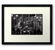 Tokyo Christmas Shopping - Japan Framed Print
