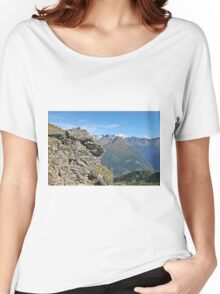 Austria, Alps mountain landscape  Women's Relaxed Fit T-Shirt